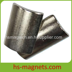 Motor Permanent Rare Earth Arc Magnets