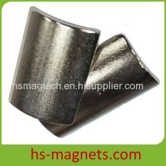 Motor Permanent Rare Earth Arc Magnets