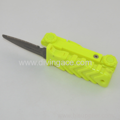 hunting knife/silicone diving equipment /military knife