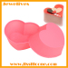 Mini hot sale heart-shape silicone cake tray