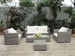 Aluminum Rattan Chairs and Table Sets
