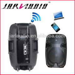 12inch plastic wifi speakers/ active speakers with MP3 player