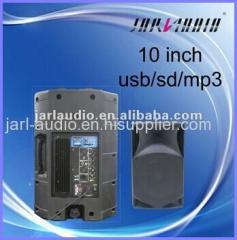 10 inch mini plastic speaker