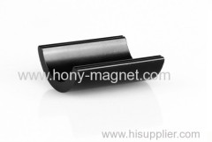 Economic permanent bonded rare magnetics