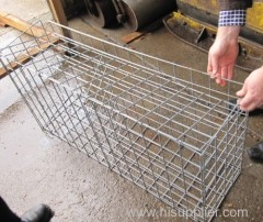 Galfan Coating Welded Wire Mesh Gabion