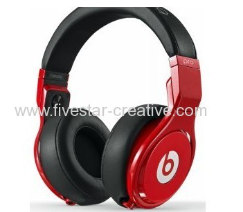 Beats by Dr.Dre Pro Lil Wayne On-The-Ear Headphones Red Black