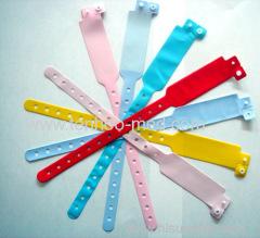 hospital ID bands/patient ID bracelets/ID band/I.D. BRACELET/plastic wrist band