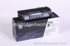 Genuine HP Q7553A Black Laser Toner Cartridge (53A)