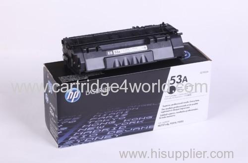 Genuine HP Q7553A Black Laser Toner Cartridge (53A)