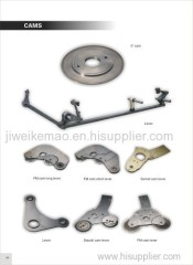Weaving Machinery Spare Parts Sulzer Cams Shedding Cam For Sulzer Projectile Loom OEM