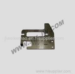 Textile spares projectile feeder plate