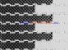 Square friction top 1400 modular conveyor belt