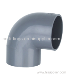 upvc 90 degree elbow pipe fittings
