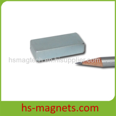 Zn Plated Strong Block NdFeB Magnet