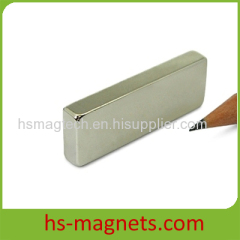 Rectangle Shaped Larger Neodymium Magnet