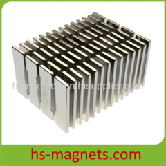 Sintered Neodymium Iron Boron Permanent Rectangular Magnet