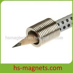 Powerful Sintered Neodymium Ring Magnets