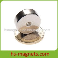 Permanent Ring Round Neodymium Magnet
