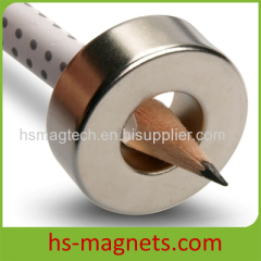 Rare Earth Neodymium-Iron-Boron Permanent Magnet Ring