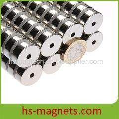 double nickel (Ni+Ni) neodymium Ring magnets
