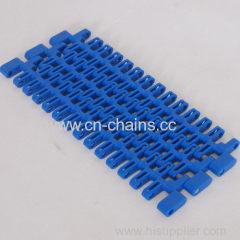 SNB M2 34% Flush Grid Modular plastic conveyor belt