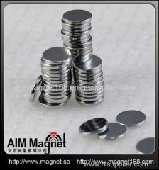 Rare earth ndfeb disc magnet 10 x 1.5mm