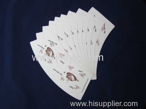 paper cup fans printed and cutted