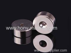 Sintered Permanent Neodymium Countersunk Magnet
