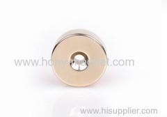 Sintered neodymium round magnet