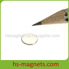 Thin Small Disc Sintered Neodymium-Iron-Boron
