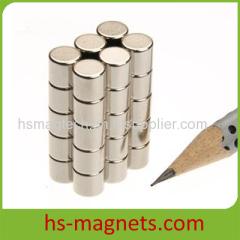 Cylinder Neodymium Rare Earth Magnet