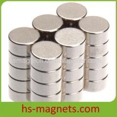 Ni-Cu-Ni Coated DISK Cylinder Sintered NdFeB N52