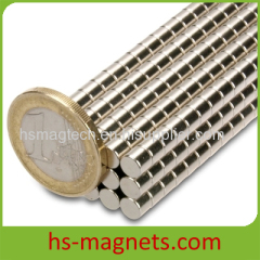 Small Disc Cylinder Sintered NdFeB
