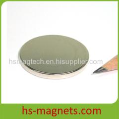 Neodymium Iron Boron Disc Magnet