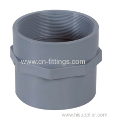 upvc female coupling pipe fitting