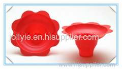 colorful snow cone flower cups high quality