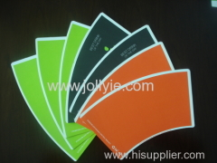 one color printing paper cup fans