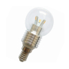 G45 led Candle flame bulb light 3w replace 30w halogen