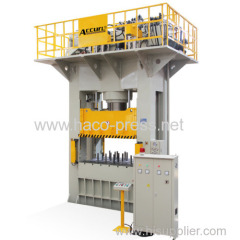 Hydraulic Deep Drawing Press 300 tons structures deep drawing presses 500 tons H frame Hydraulic press