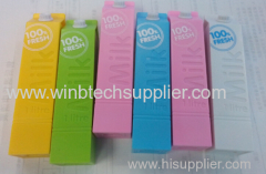 milk bottle shape 1500mah show 2600mah power bank