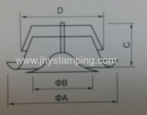 metal air supply valve