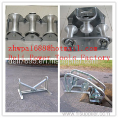 Steel Buried Cable Roller Cable Roller For Well Head