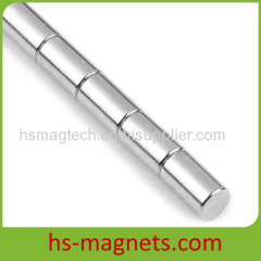 high working temperature Cylinder N38 Neodymium Rare Earth Magnets