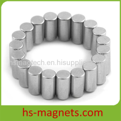 N45 Neodymium Rare Earth Permanent Cylinder Magnets