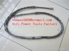 Non-conductive cable sock Fiber optic cable sock Pulling grip