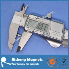 High Power Magnet Magnets N45 D8 x 2mm Strong Thin Neodymium Magnet