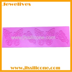 Fashion silicone cake decorating mold