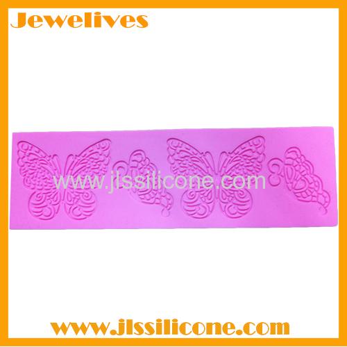 Fashion silicone cake decorating mold