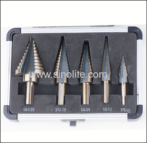 Spiral fluted HSS Step Drill......