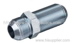 JIC male 74°cone bulkhead Fittings 6J